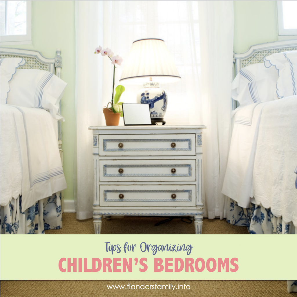 Tips for Keeping Kids Rooms Clean