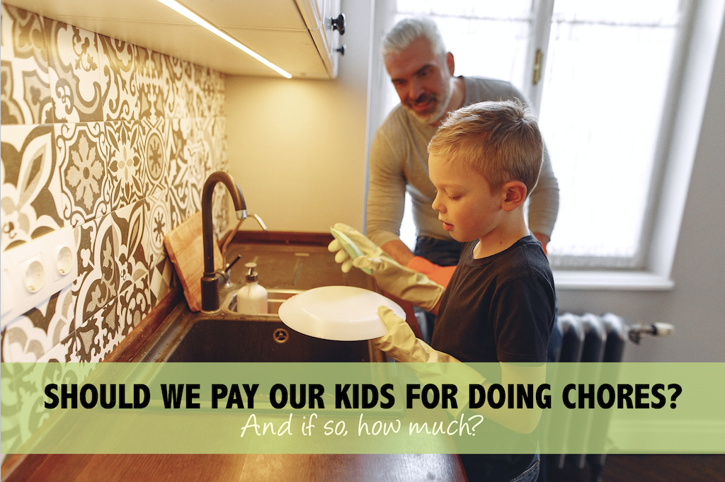 Should Kids Get Paid for Chores
