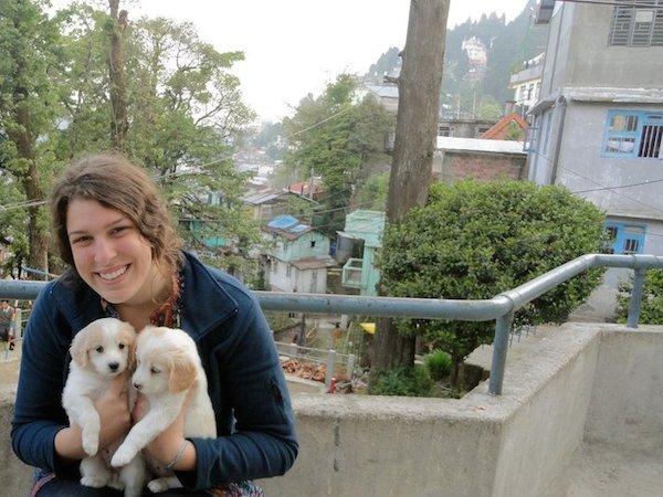 Bethany Flanders loves animals