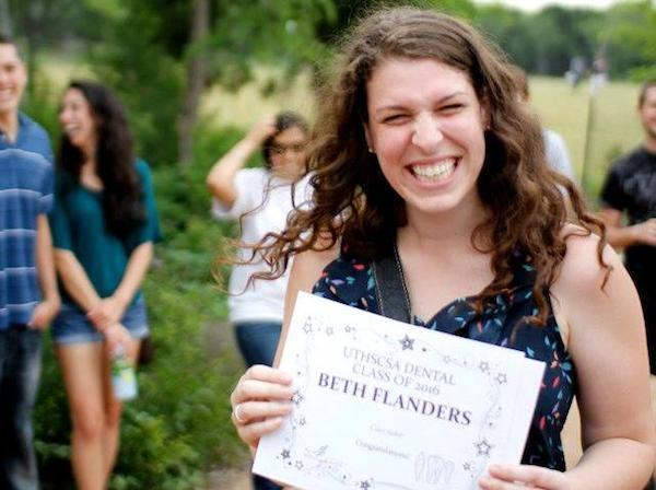 "Bethany Flanders - recipient of ""Class Baker"" award :-)"
