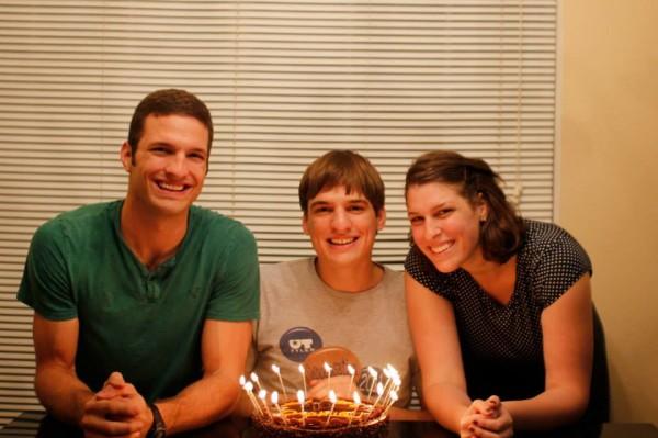 Samuel's 21st birthday