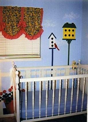 Beth's room crib