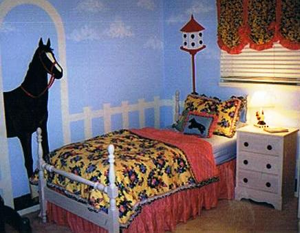 Beth's room horse