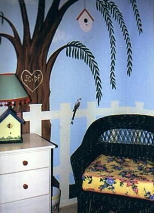 Beth's room tree