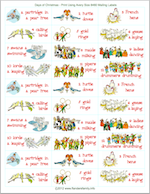 Find loads of free printable Christmas games at www.flandersfamily.info