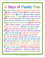 Fun Ideas for Families