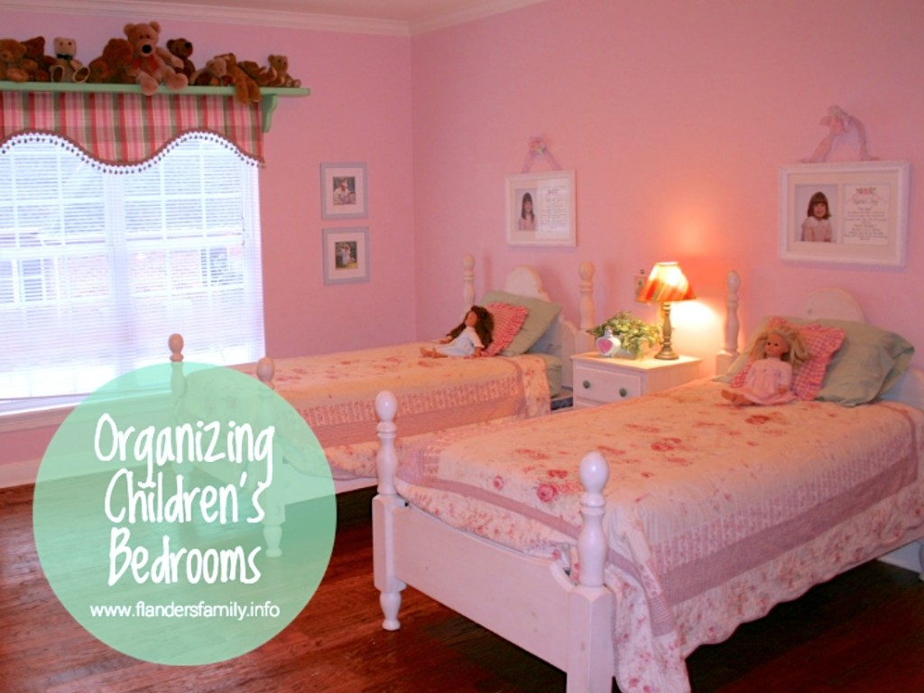 Tips for Organizing Children's Bedrooms | www.flandersfamily.info