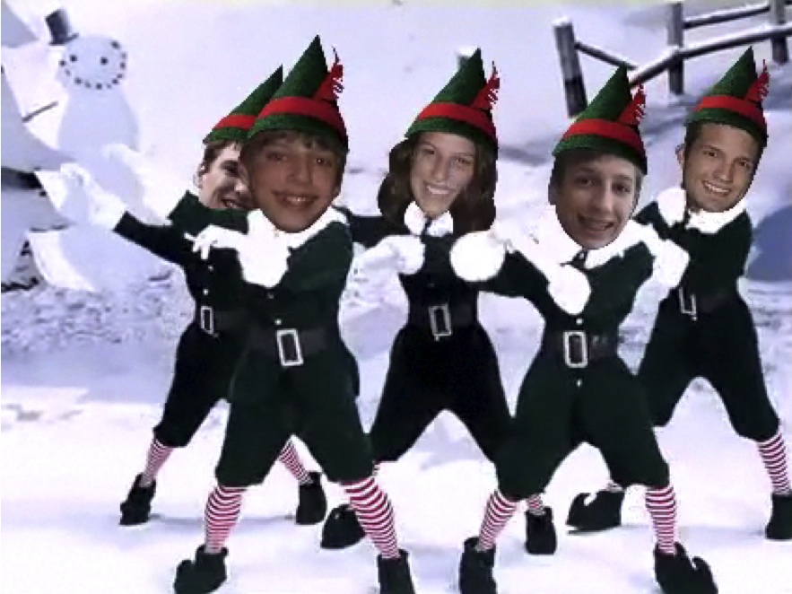 Hip-Hop Christmas Elves