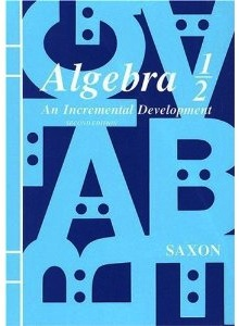 Saxon Algebra 1/2