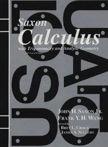 Saxon Calculus