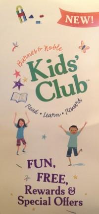 Free Kids Club at Barnes & Noble