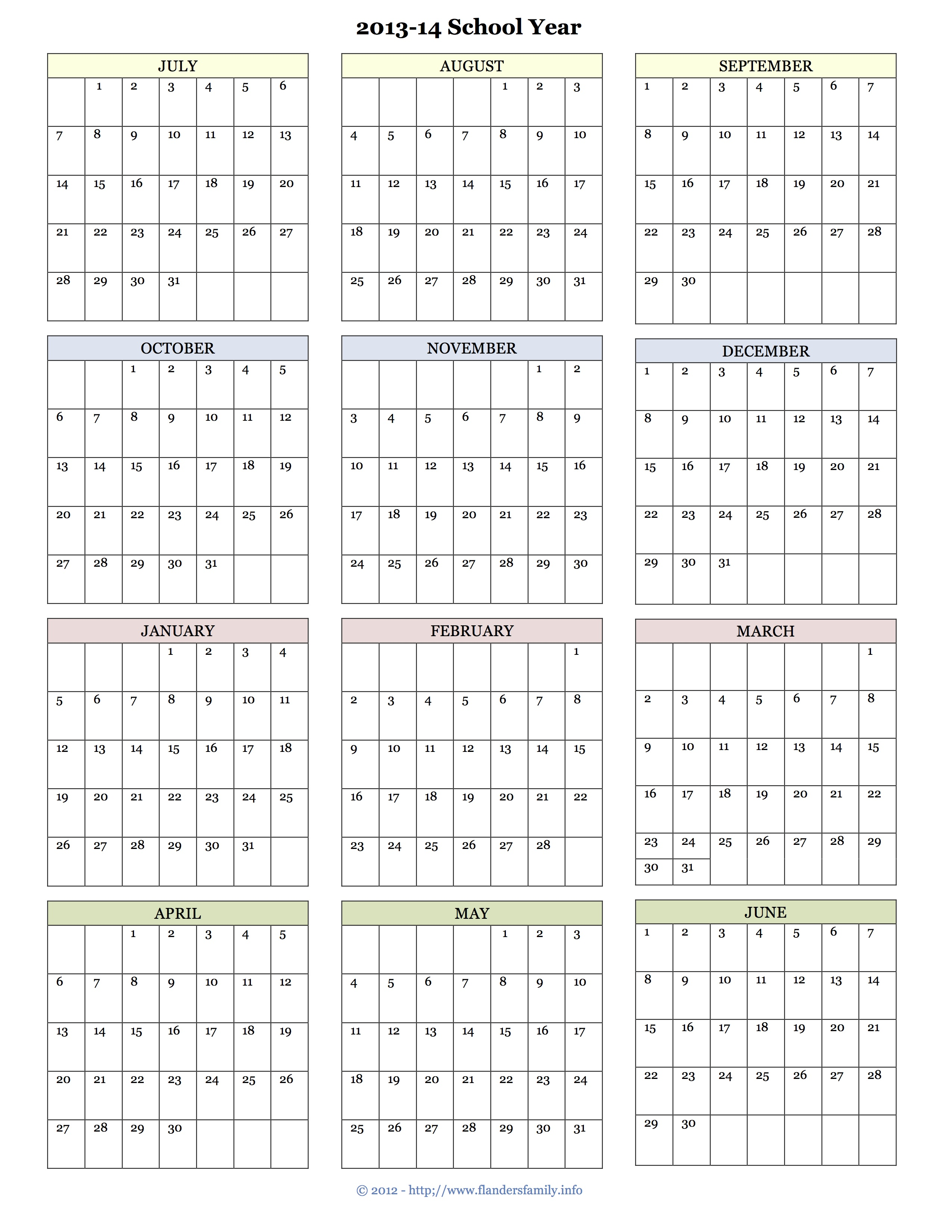 julian calendar 2014 printable displaying 6 images for julian calendar ...