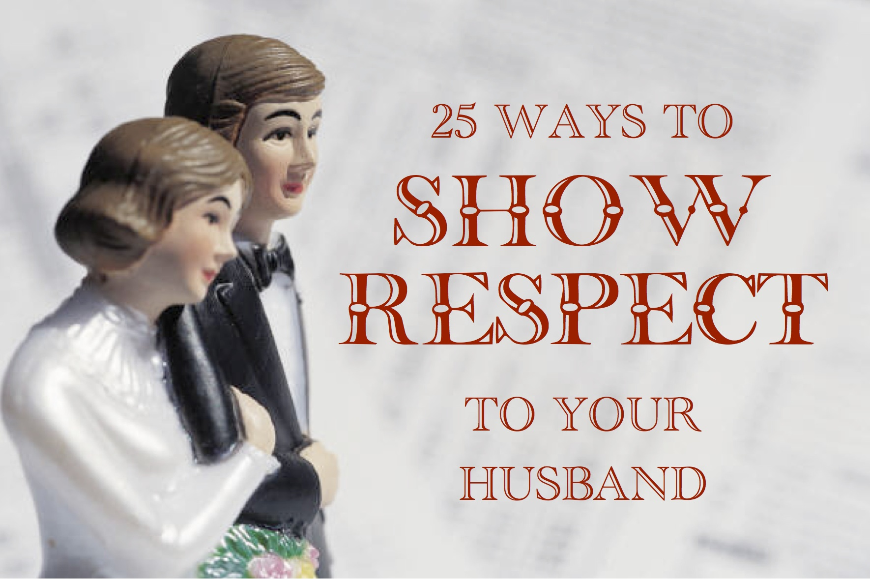 Showing Respect in Marriage (Free Printable)