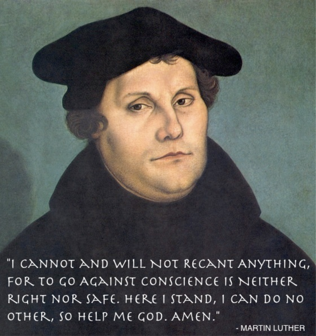 Remembering Reformation Day - Martin Luther Quote