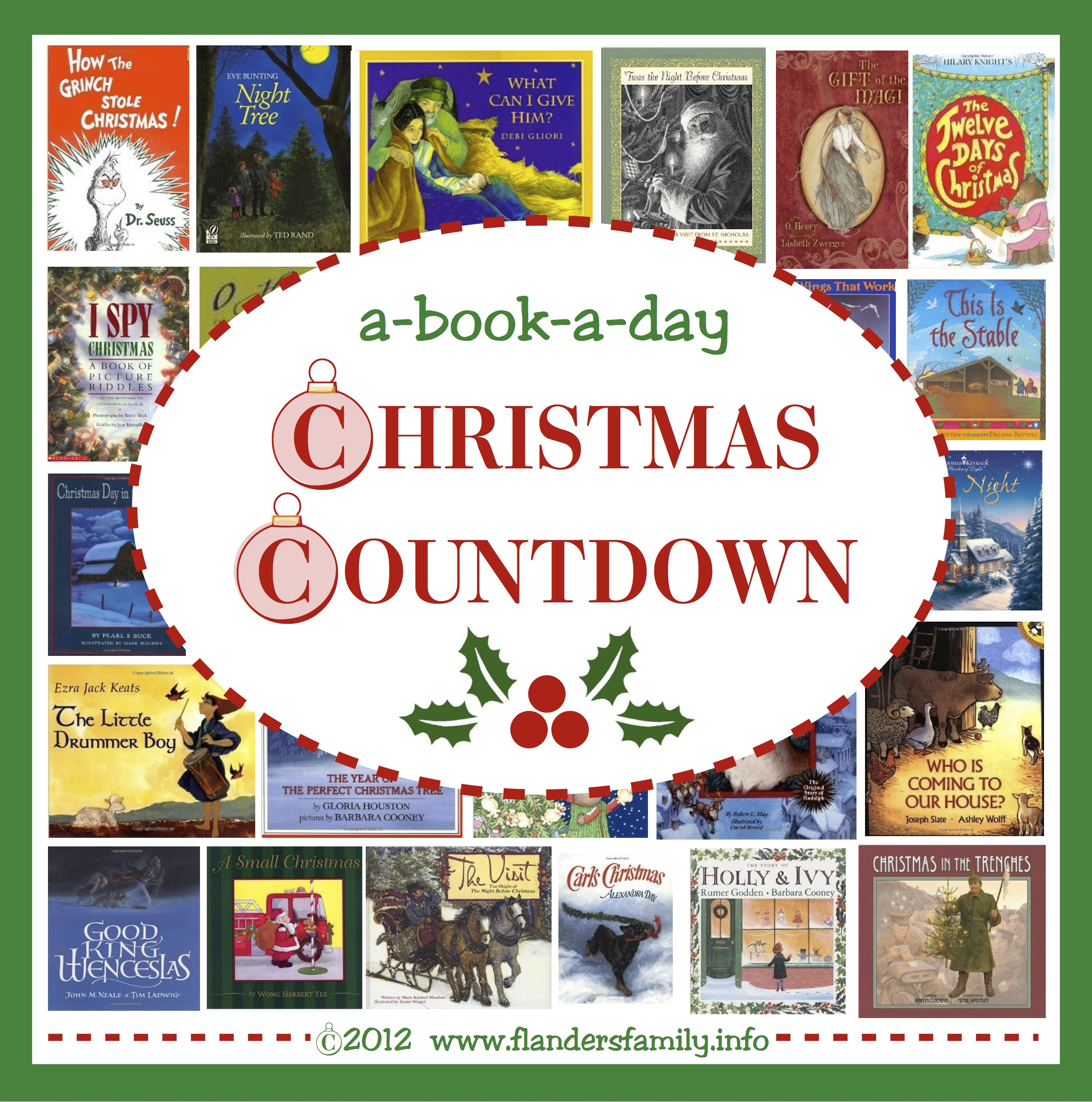 Countdown to Christmas reading plan