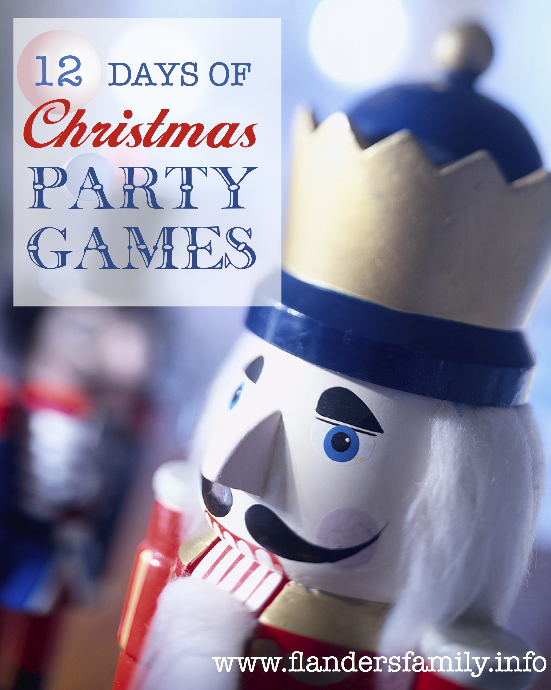 christmas party games 12 days of flanders family homelife 12808