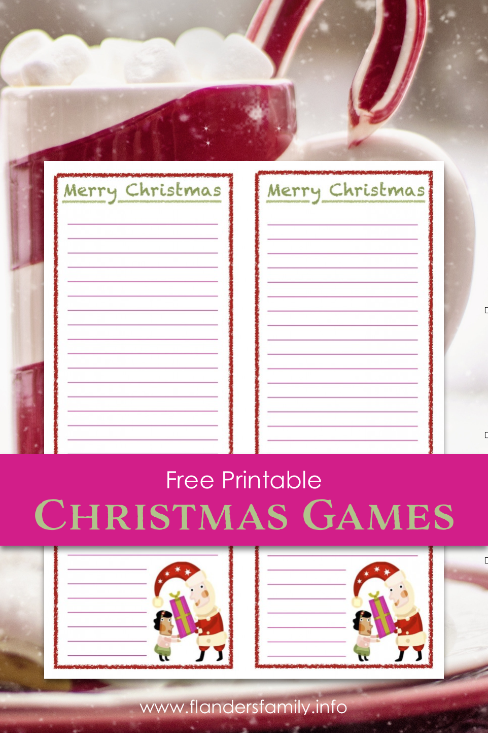 Christmas Games - Word Find