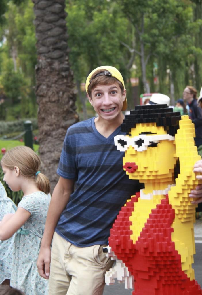Benjamin at Legoland