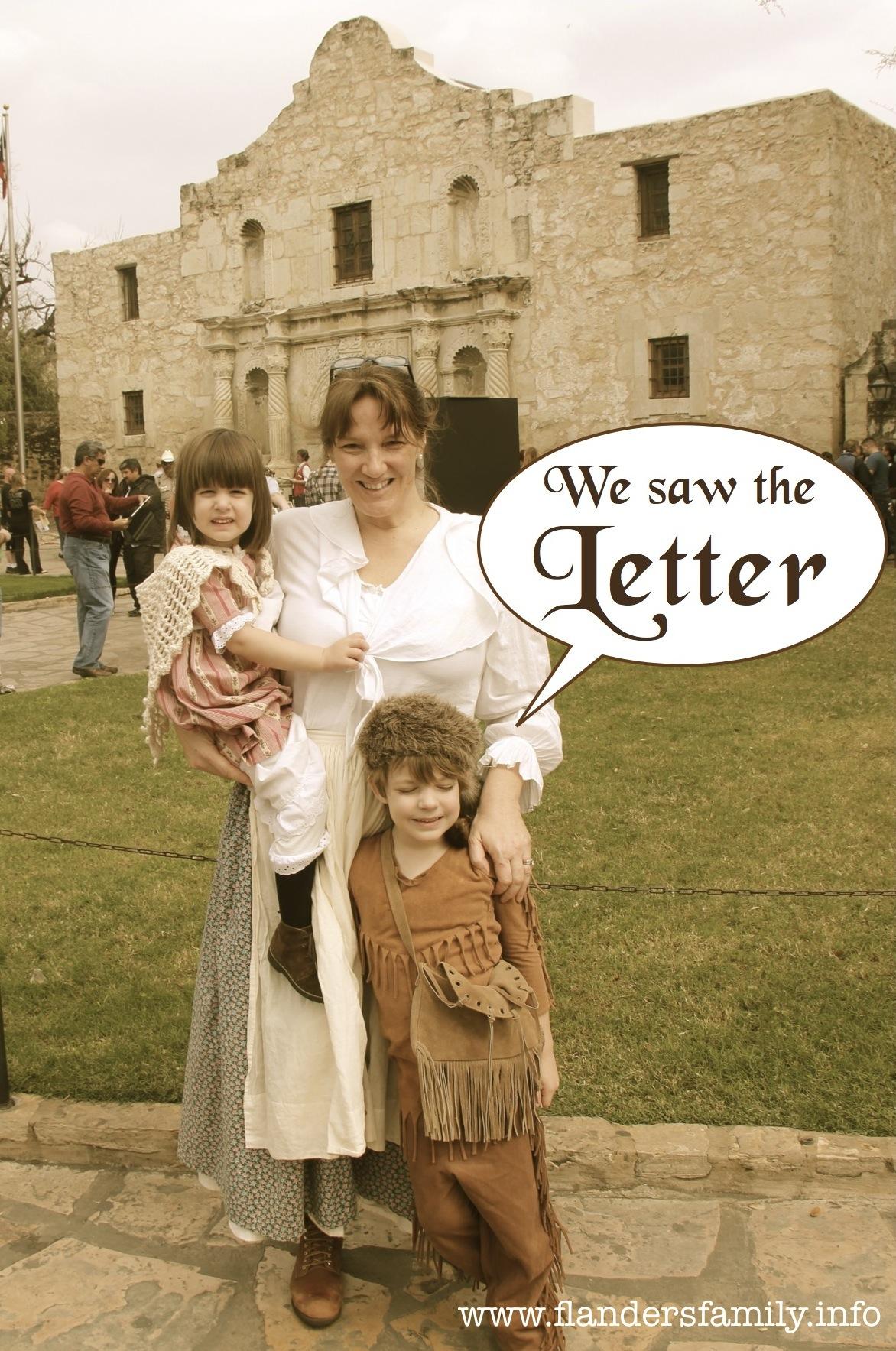 The Travis Letter Returns