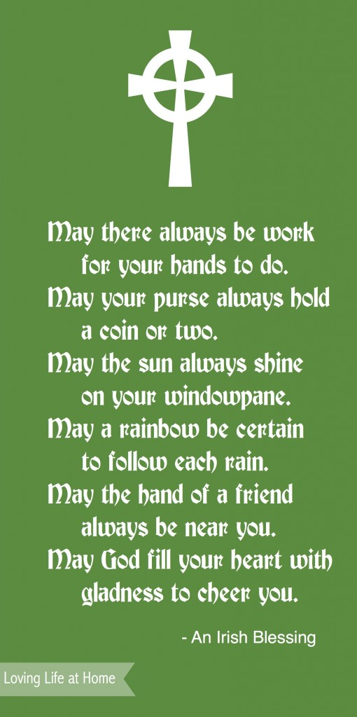 Happy St. Patrick's Day - Irish Blessing