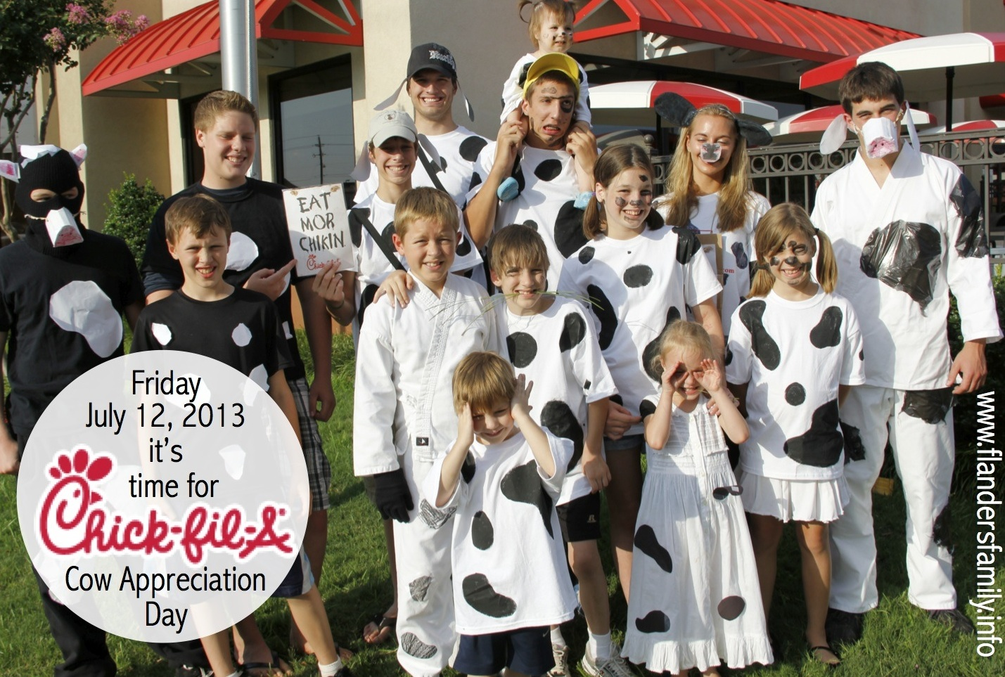 Cows Eat Free at Chick-fil-A