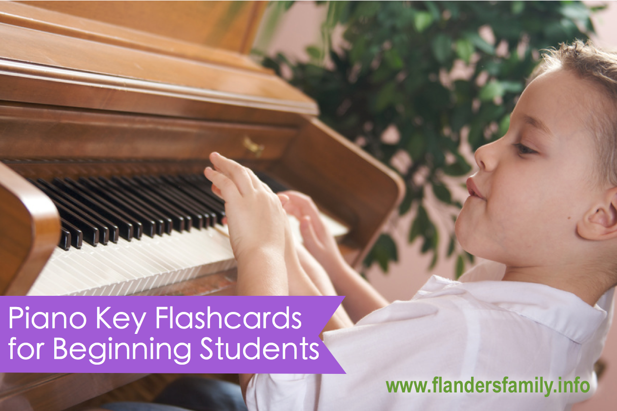 Theory games for beginning piano students {free printables from www.flandersfamily.info}