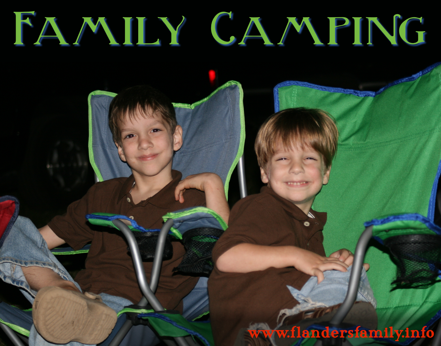 Family Camp Countdown