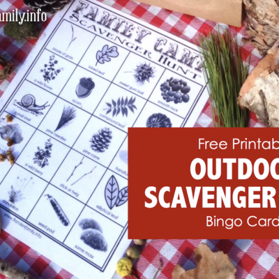 Family Camp Fun: Outdoor Scavenger Hunt