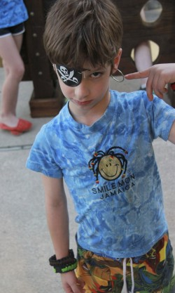 2013 - Daniel as a Pirate