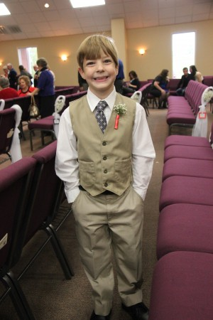 2013 - Gabriel as Ringbearer