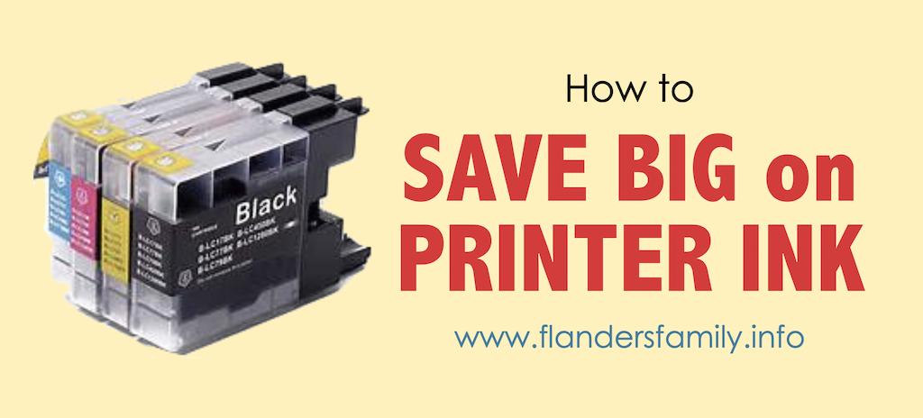 Save Big on Computer Ink