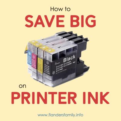3 Steps to Saving Big on Printer Ink
