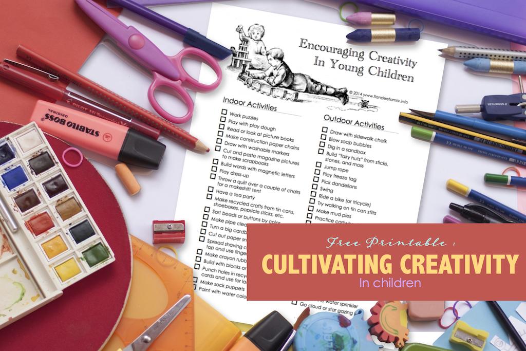 Cultivating Creativity in Children