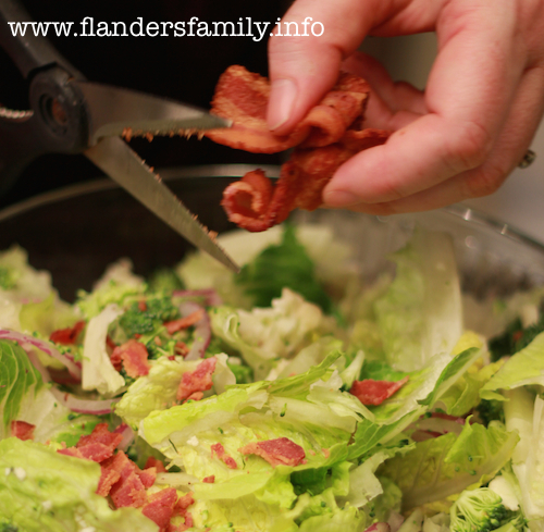 Broccoli and Cauliflower Salad Recipe -- Yum!