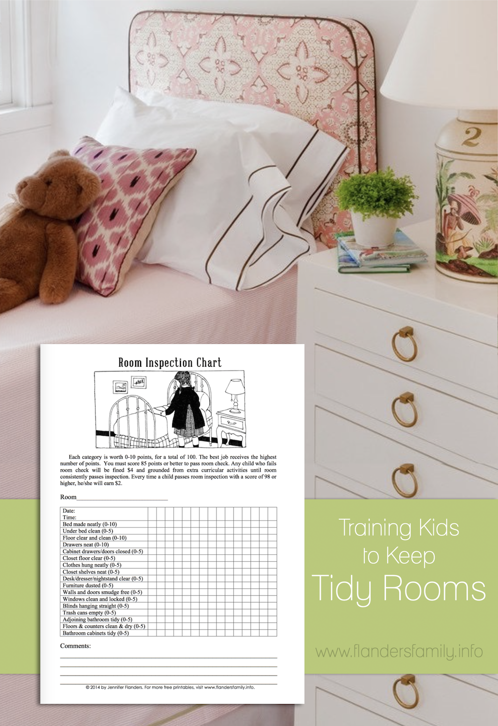 Training Kids to Keep Rooms Tidy