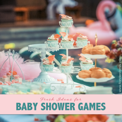 Baby Shower Games (with Free Printables)