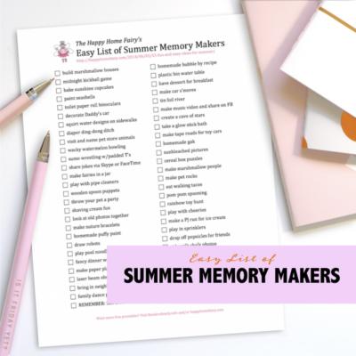 Fresh Ideas for Summer Fun
