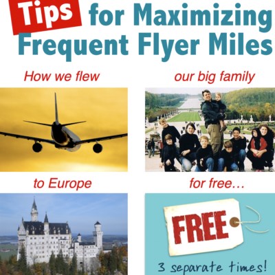 How Our Family Flew to Europe for Free