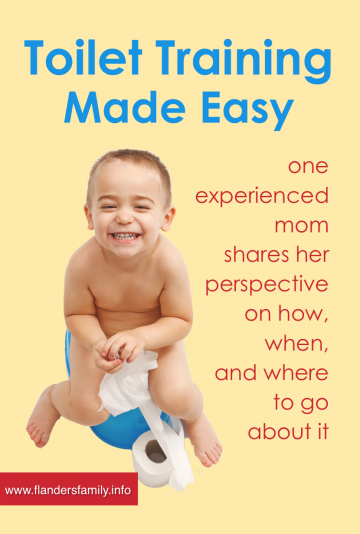 A Common Sense Approach to Potty-Training