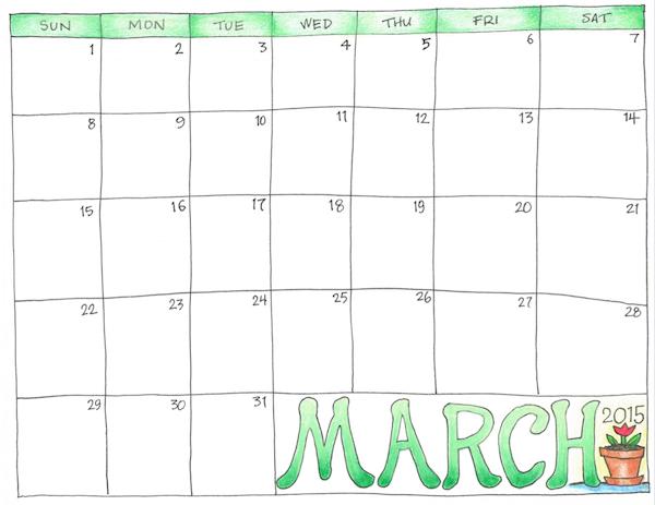 free printable scrapbooking calendars from www.flandersfamily.info