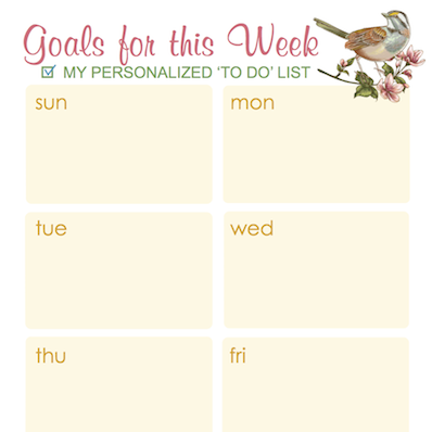 Keeping Track of It All {Free Printable Calendar Page}