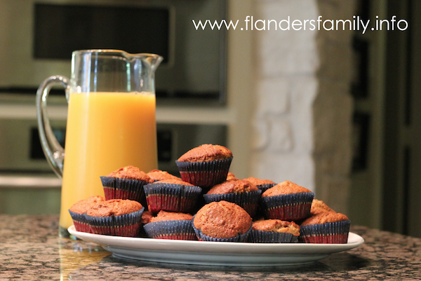 Quick & Easy Breakfast - raisin bran muffins