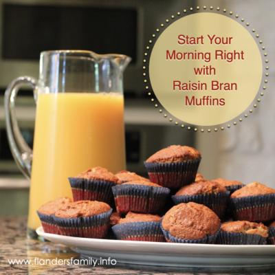Raisin Bran Muffins: A Family Favorite