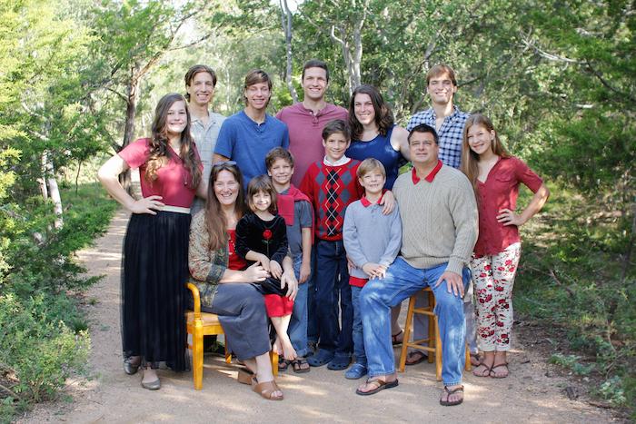 The Flanders Family (Christmas 2014)