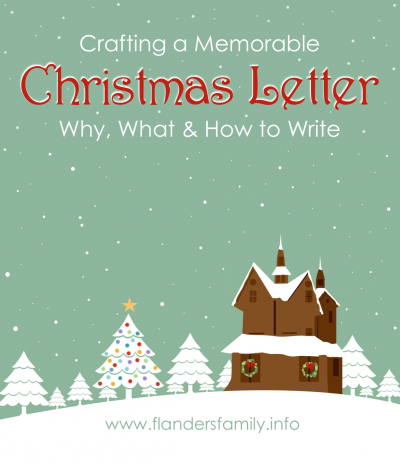 Christmas Letters: Why, What and How to Write