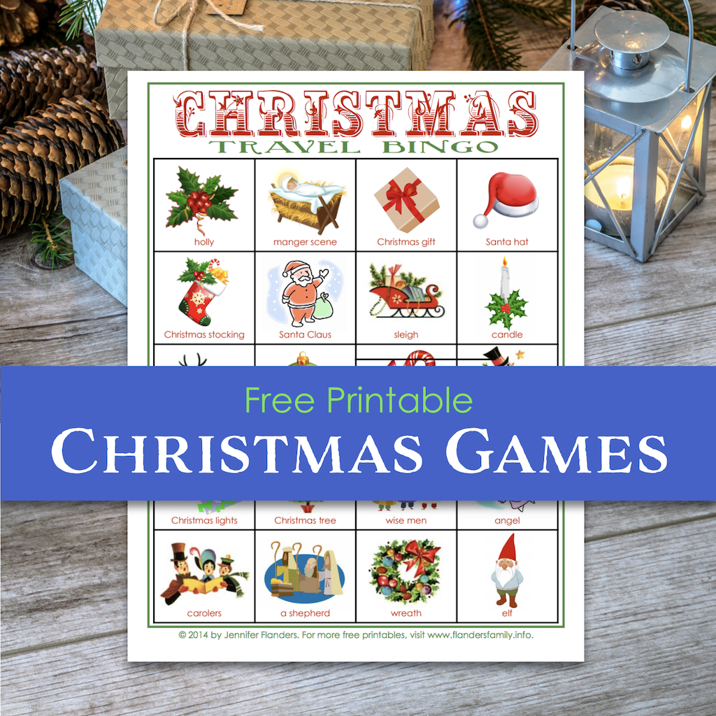 Christmas Travel Bingo