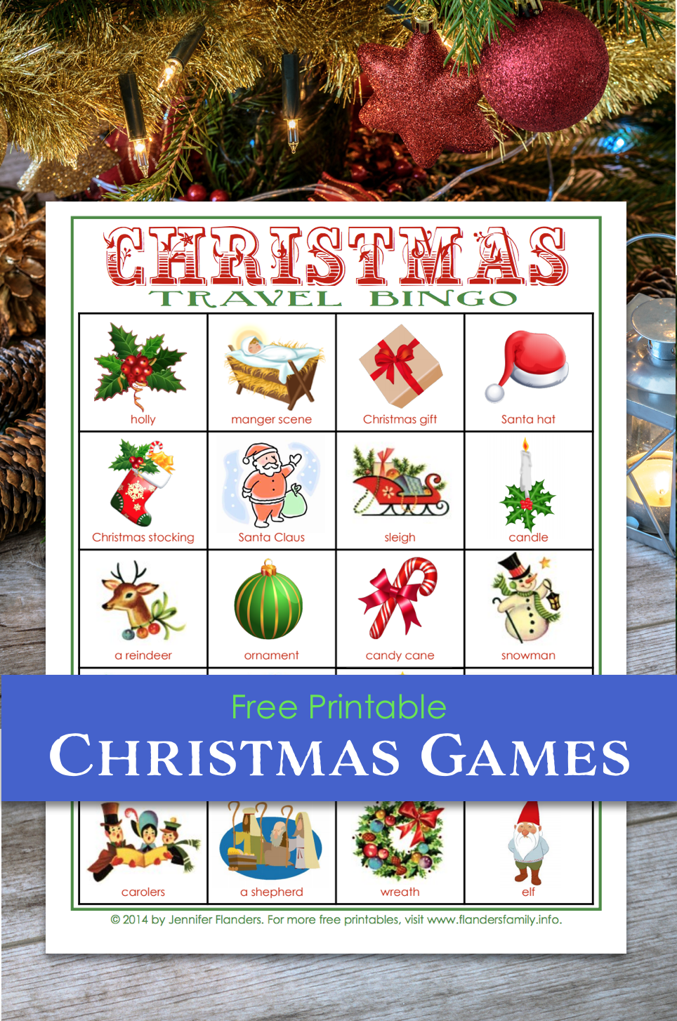 Christmas Games - Bingo