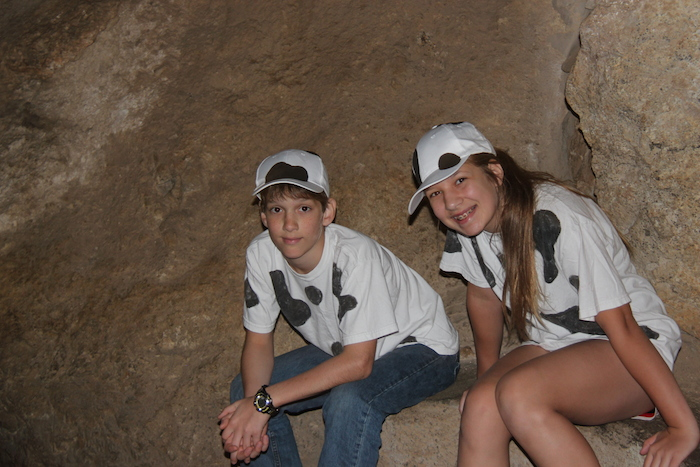 Isaac & Rachel at Carlsbad Caverns
