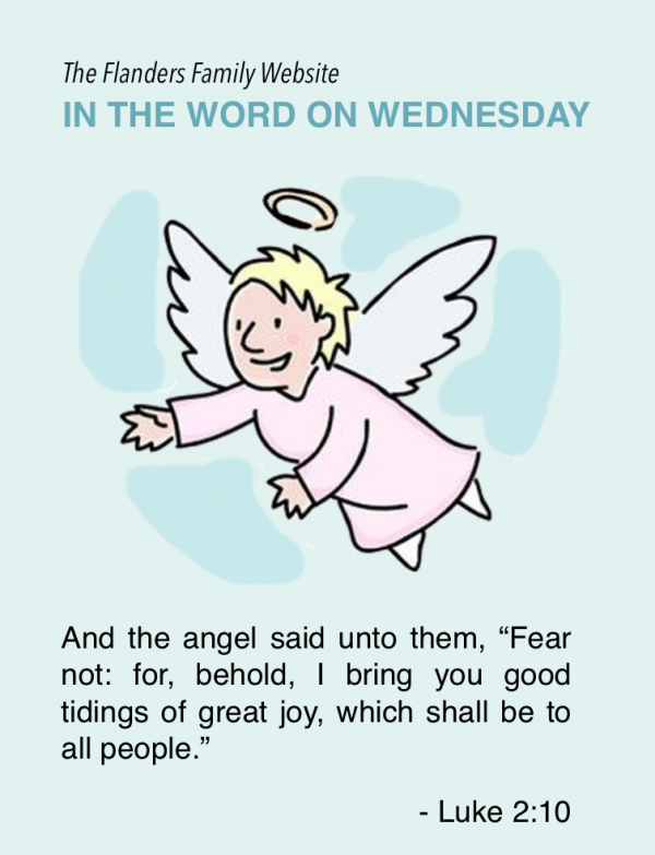 In the Word on Wednesday: Bible Memory Flash Cards