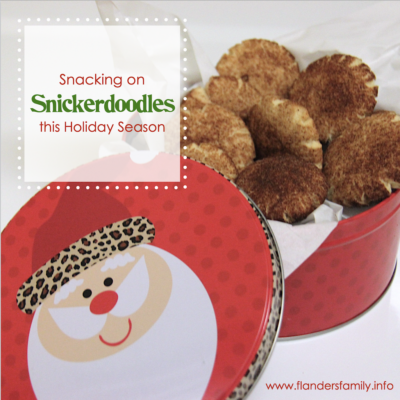 Snacking on Snickerdoodles